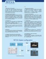 M.Y.S.S. Brochure
